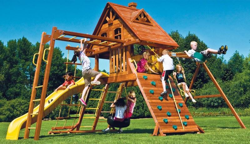 Обустроить дачу для отдыха с детьми4