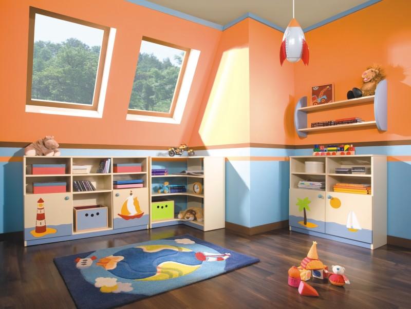 Оформляем комнату ребенка