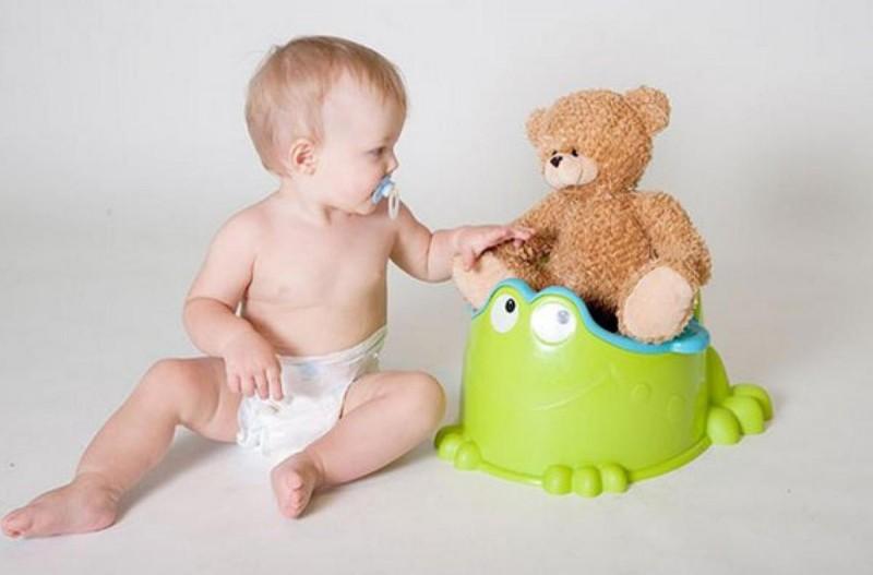 Преучение малыша к горшку 3