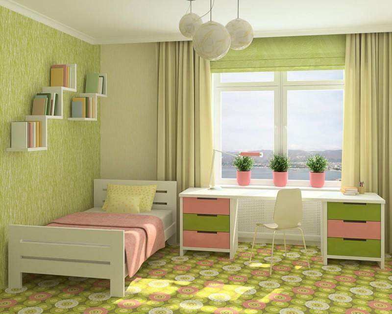 Уют в комнате ребенка