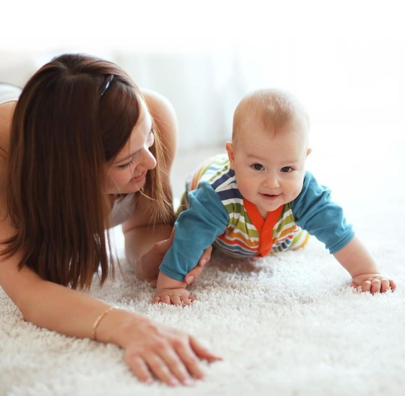 Химчистка ковров - заботимся о здоровье детей.